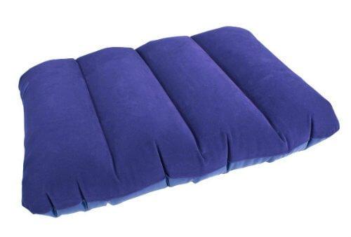 Highlander Travel//Camping Polycotton Pillow with Stuff Sac Grey