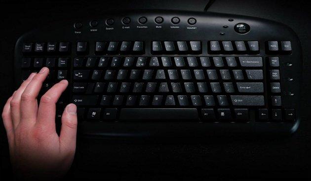 best left handed computer keyboard for gaming and typing. Black Bedroom Furniture Sets. Home Design Ideas