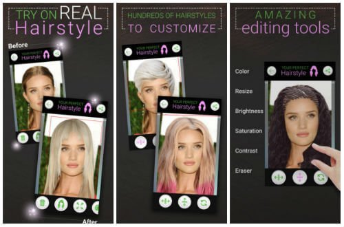 Best hairstyle apps for iPhone and iPad FREE to download