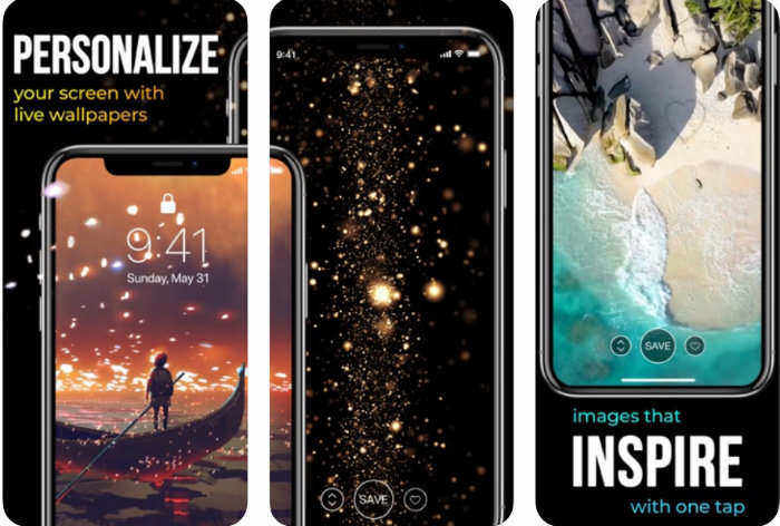Best Free Live Wallpaper App For Iphone And Ipad Animated Backgrounds